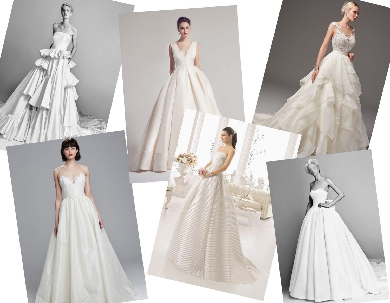 Wedding Dresses Shapes