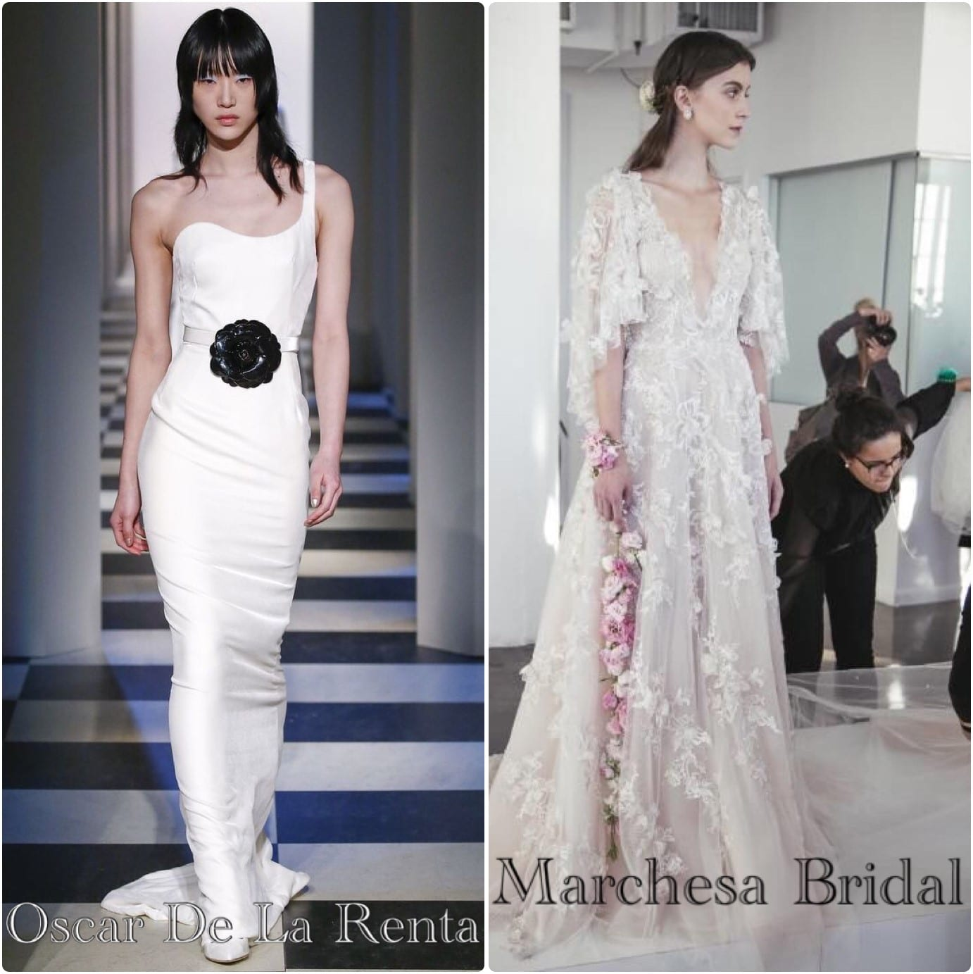 Alternative wedding dresses capesthorne hall and weddings we recently did a feature on the wedding dress shapes to look out for and what impact they give this follows for most long dresses so it is worth using as ombrellifo Image collections