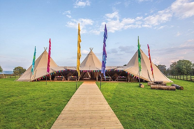 Capesthorne Tipi Cover Picture