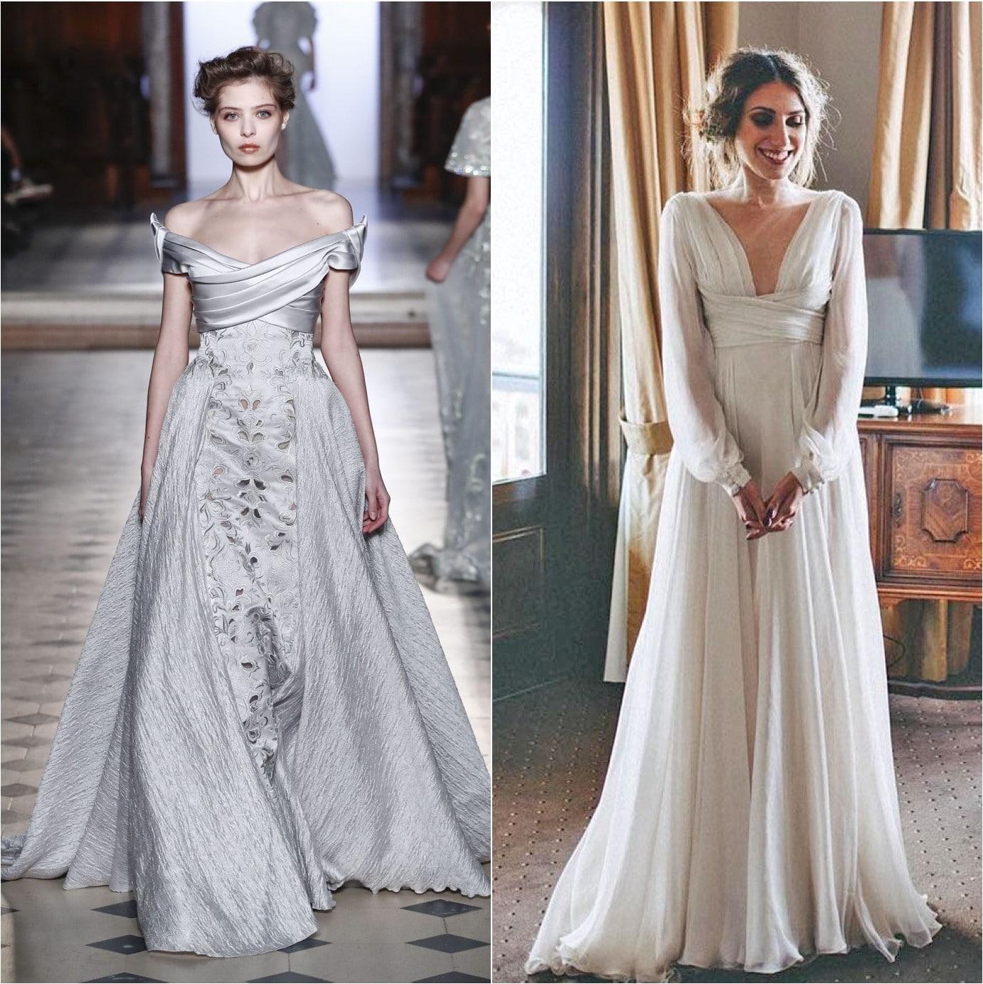 Pre Raphaelite Inspired Wedding Dresses Capesthorne Hall