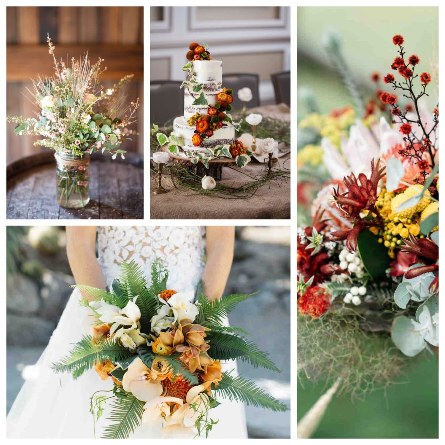 Autumn Wedding Flowers Capesthorne Hall And Weddings
