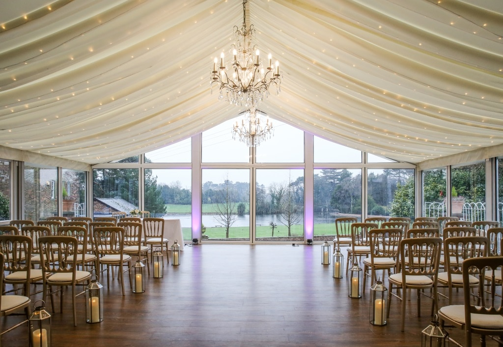 Exclusive Lakeside Weddings At Capesthorne Hall