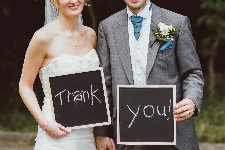 Groom's Speech - Capesthorne Hall and Weddings